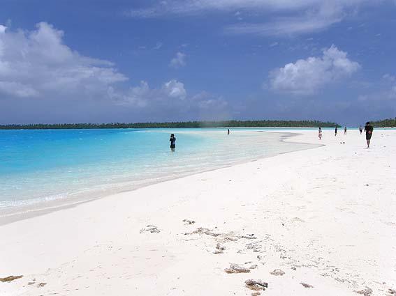 クック諸島で有名なヘブンビーチ